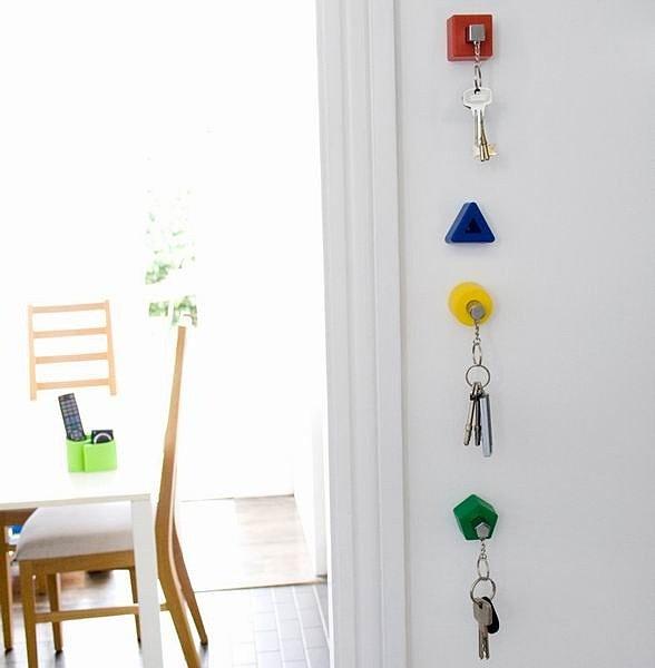 Настенные держатели для ключей
